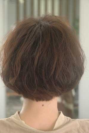 沖縄県宜野湾市美容室stylista|ふんわりボブ。1