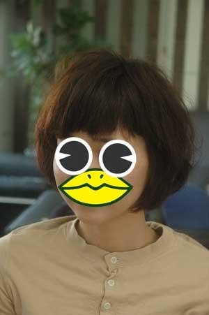 沖縄県宜野湾市美容室stylista|ふんわりボブ。3