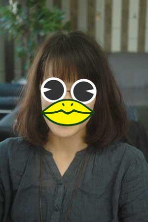 沖縄県宜野湾市美容室stylista|ふんわりミディアムボブ。2